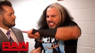 """Woken"" Matt Hardy has procurement on his mind: Raw Exclusive, April 2, 2018"
