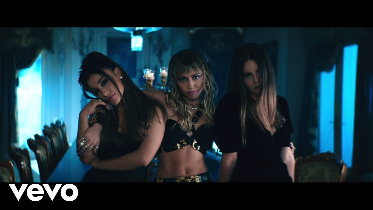 Ariana Grande, Miley Cyrus, Lana Del Rey - Don`t Call Me Angel (Charlie`s Angels)