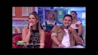 """Maria Cecília e Rodolfo cantam """"Você de volta"""" no Boteco do Ratinho"""