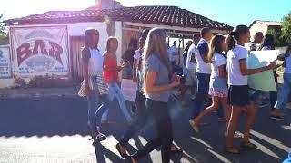 Manifestação estudantes apoio a greve estadual da educação em Avelino Lopes