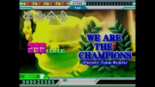 Dance Dance Revolution EXTREME CS - We are the Champions (Factory Team Remix)