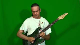 MARCELLO ZAPPATORE plays EDDIE VAN HALEN's solo on NOT ENOUGH