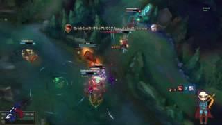 Caitlyn Quadra Kill !!
