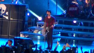 Green Day - Stray Heart - live at Olympijskiy Stadium Moscow 21.06.2013