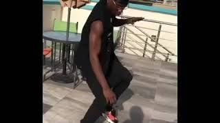 Lil Kesh Shows New Shaku Shaku Dance Moves On Aunty Monica