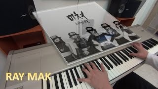 4MINUTE - 미쳐 (Crazy) Piano by Ray Mak
