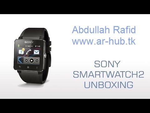 فتح صندوق ساعه سوني الذكيه  Unboxing Sony Smart watch 2