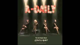 에이데일리A Daily   Spotlight  'Spotlight' The 2nd Single Album