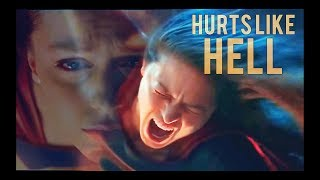 Supergirl // Hurts Like Hell {2x22}