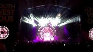Armin van Buuren & Cindy Alma Live @ SW4 Festival London 24/08/2013 Clapham Common