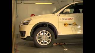 2012 Audi Q3 Low-Speed Front & Rear Bumper Impacts (RCAR)