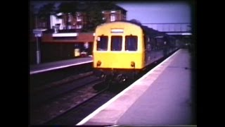 Kidderminster Railway Station 17th May 1980 from Super 8 Sound Film
