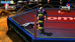 Lucha Libre: Heroes Del Ring - Story Mode Rudos Campaign, Abismo Negro vs Zombie Clown
