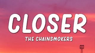 The Chainsmokers - Closer (Lyrics)(ft. Halsey) width=