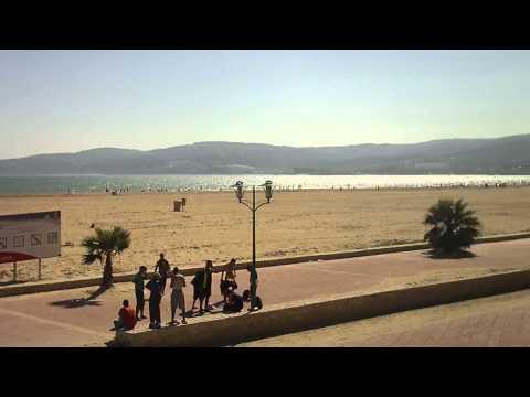 Tanger: Plage et front de mer.