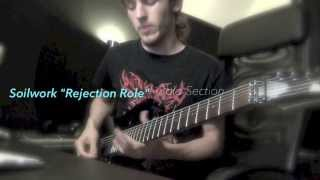 "Soilwork - ""Rejection Role"" Solo Cover - Benjamin Ellis"