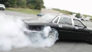 Jaguar xj6 burnout
