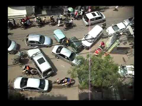 traffic jam in Bangladesh,Dhaka.mp4