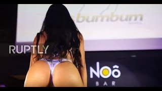 CHEEKy! Miss BumBum contestants put on a cracking show