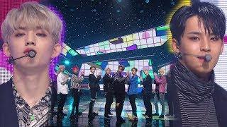 《POWERFUL》 SEVENTEEN(세븐틴) - CLAP(박수) @인기가요 Inkigayo 20171126 width=