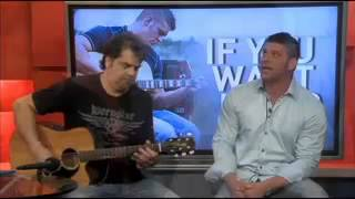 David Joel performs on 12News at Noon