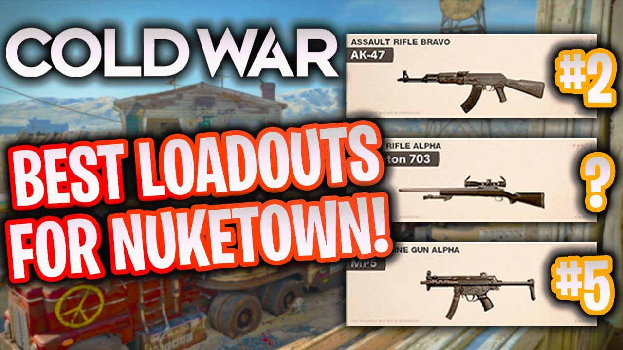 YankeeYT - 5 BEST Class Setups for NUKETOWN in Black Ops Cold War! (Cold War Best Loadouts)