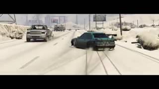 GTA 5 | MiyaGi - Колибри | Winter DRIFT (Конец 2017)