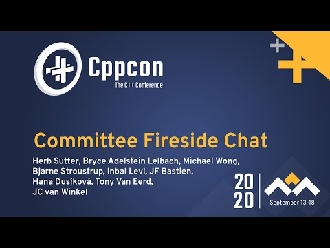 C++ Standards Committee Fireside Chat hosted by Herb Sutter