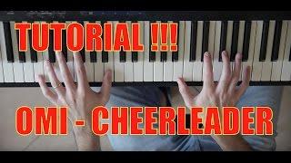 OMI Cheerleader Felix Jaehn Remix Piano Cover Tutorial by Fabrizio Spaggiari
