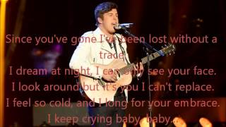 Alex Preston-Every Breath You Take-American Idol 13[Lyrics]