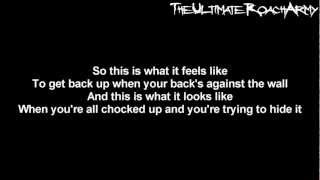 Papa Roach - What's Left Of Me {Lyrics on screen} HD