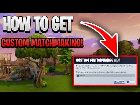 Custom matchmaking matchmaking key 2021 best quiz fortnite ☝️ BuzzFeed