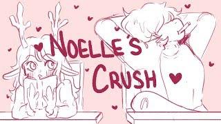 Noelle's Crush (Deltarune animatic) - uwu by Chevy