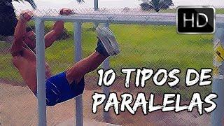10 Tipos de Fondos en Paralelas o Dips | Bars Tr4iner