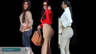 Kim Kardashian's Plastic Surgery Transformation