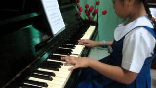 J.S.Bach: Minuet No.1 played by Shaira Barzanas SMC grade 2 pupil