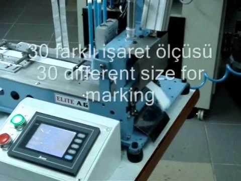 İşaretleme ve boy kesme makinası