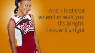 Songbird - Glee (Lyrics)