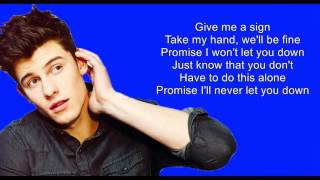 Treat You Better - Shawn Mendes (Audio) Lyrics