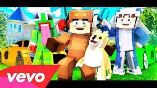 """♫ """"LUCY"""" - Minecraft Parody of FEFE by 6ix9ine & Nicki Minaj (Music Video) ♫ (By MooseCraft) width="""