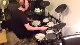 The Pretenders - Back On The Chain Gang (Roland TD-12 Drum Cover)