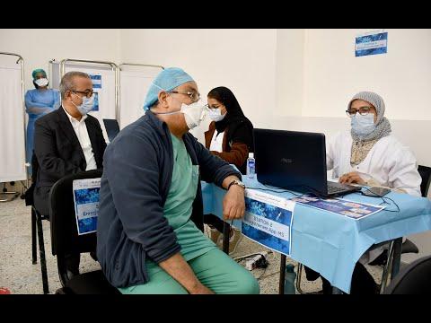Video : L'opération de vaccination se poursuit : L'exemple au CHU Ibn Rochd à Casablanca