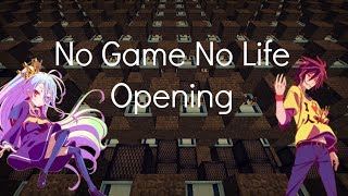 "Minecraft Noteblocks : No Game No Life Opening - ""This Game"""