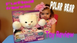 Furreal Friends Lovey Chubbies Polar Bear Review