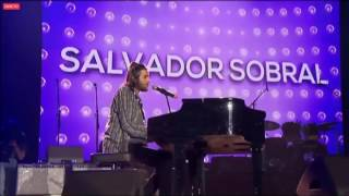 Salvador Sobral   - excerto da atuação no concerto solidário Juntos Por Todos