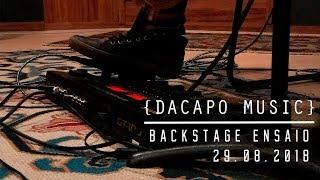 Dacapo -  Ensaio 29/08/2018 (BACKSTAGE)