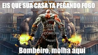 Melhores Memes Da Música do God Of War 2 | South America Memes