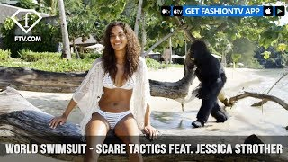 World Swimsuit Presents Scare Tactics featuring Jessica Strother | FashionTV | FTV