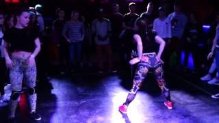 Wipe Your Shoes Battle \ Twerk \ Ms.Helen VS Natalie Lynx