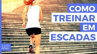 Como começar a TREINAR em ESCADAS - Treino subindo escadas!